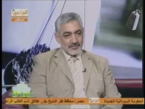 يمني طولان مع الدكتور عبد اللطيف سويلم ج1