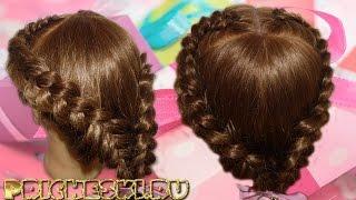 прически на средние волосы ребенку фото