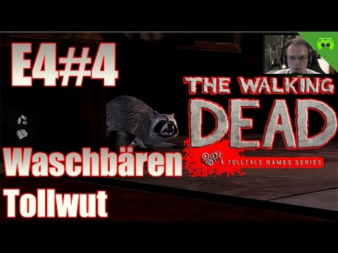 TWD S02E04 # 4 - Waschbären-Tollwut «» Let's Play The Walking Dead Amid the ruins | HD