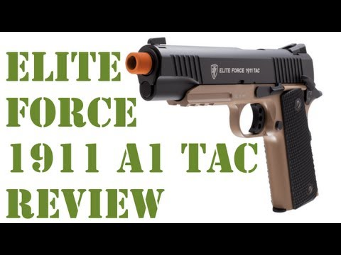 New Elite Force Guns - New on the market from Elite Force the 1911 A1 Tactical C02 powered pistol is a great value, great performance just like their 1911 A1. For more information ...