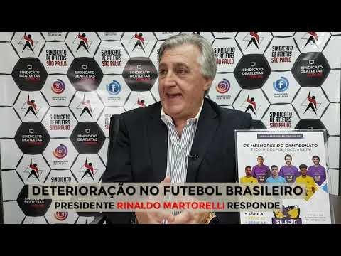 Deterioração no futebol brasileiro