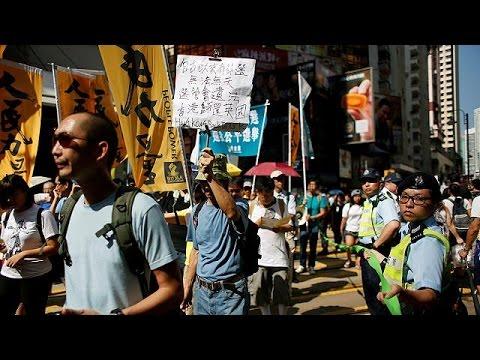 Χονγκ Κονγκ: Διαδήλωση κατά του Πεκίνου, που απέκλεισε υποψήφιους από τις εκλογές