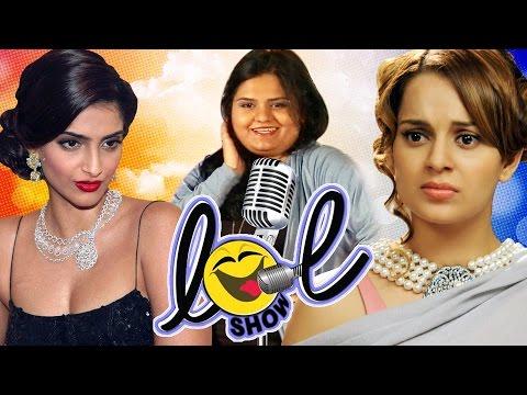Kangana, Sonam, and Kajol at Bollywood Idol | Bollywood Stars Trying To Sing| LOL Comedy Show |