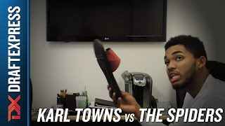 Karl-Anthony Towns Versus the Spider