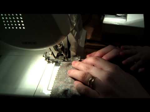 Secure serger tails