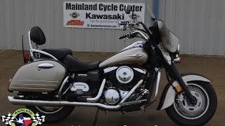 5. $3,599:  2007 Kawasaki Vulcan 1600 Nomad with Stereo Fairing