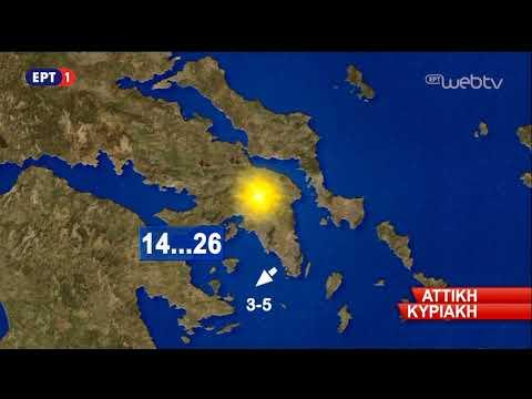ΔΕΛΤΙΟ ΚΑΙΡΟΥ (06/10/2018) | ΕΡΤ