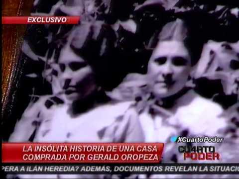 La insólita historia de una casa comprada por Gerald Oropeza