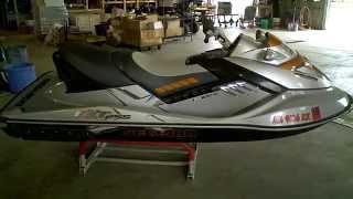 7. LOT 2337A 2008 Sea Doo RXT-X 255 Jet Ski Tear Down