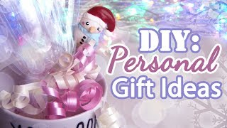 DIY: Personal Gift Ideas | Birthday | Christmas | Valentine's Day | ♥ - YouTube