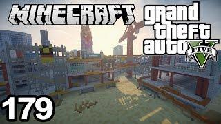GTA 5 in Minecraft #179   Construction site + more terrain! :D