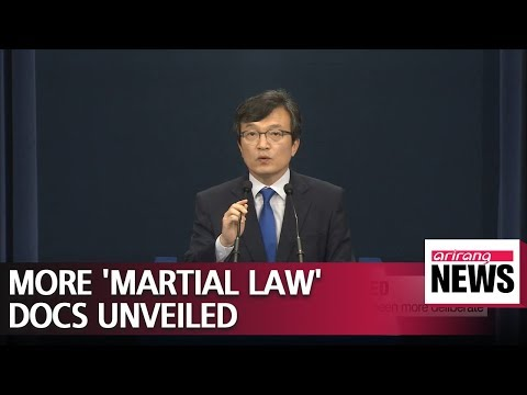 S. Korea's Blue House Unveils New Documents That Indicate Martial Law Proposal Was More...