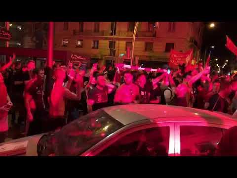 ליברפול אלופת אירופה: צפו בהמוני האוהדים חוגגים ברחובות מדריד לאחר משחק הגמר