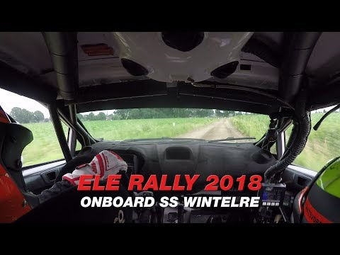 ONBOARD ELE Rally 2018 Ford Fiesta R5 by Mats vd Brand & Eddy Smeets