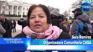 Tras el anuncio de la cancelación del TPS a salvadoreños, la comunidad inmigrante no esta dispuest