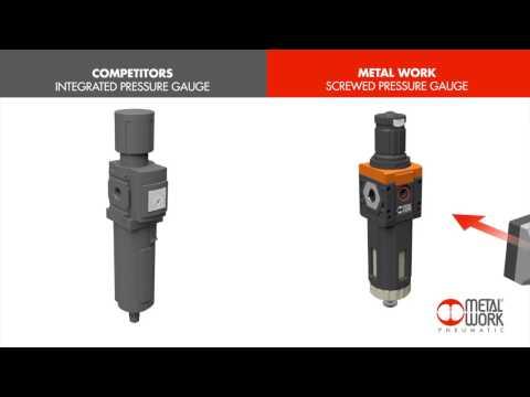 Metal Work Pneumatic - pressure gauge