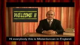 Misterduncan's English Lesson Promo (2009)