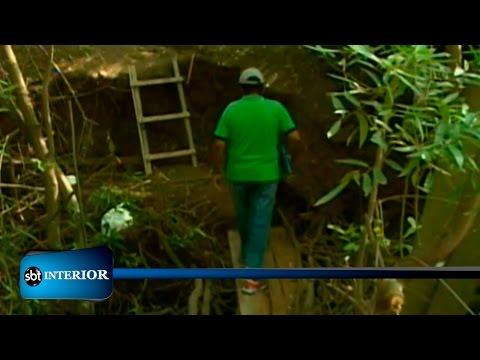 Crateras em Rio Preto tem tirado o sono de moradores e comerciantes
