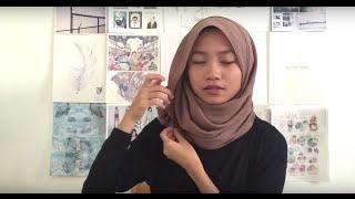 Simple Everyday hijab Styles | Hana tajima x UNIQLO