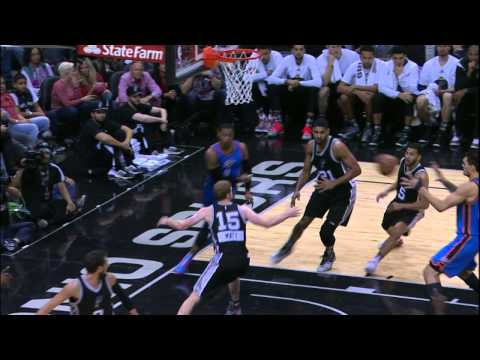 Video: Westbrook Sets Up Steven Adams for the Big Flush in Traffic