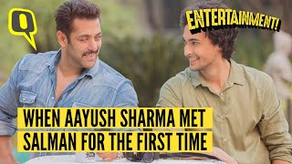 Video Aayush's First Meeting with Salman was a Scene Out of a Hindi Film I The Quint MP3, 3GP, MP4, WEBM, AVI, FLV Agustus 2018