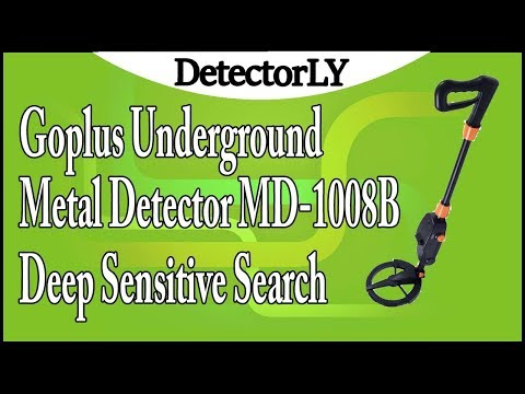 Goplus Underground Metal Detector MD-1008B Deep Sensitive Search Gold Digger Review