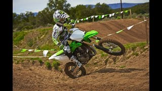 8. Kawasaki KX 85 exhaust sound and acceleration compilation