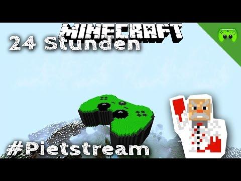 Minecraft 24 Stunden #PietStream # 2 - Mit Jay «» Geile Blockpartytime