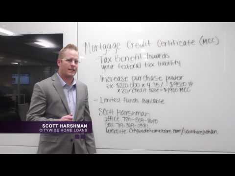 Scott Harshman - Mortgage Credit Certificate