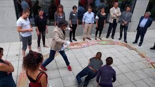Laboratorio Artístico Performance. VI Encuentro Arte para la Motivación. Bruselas 2017