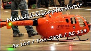 Video Modellhelikoptershow DMFV with Big Scale Heli Bo 105 / EC 135 / T rex 550 MP3, 3GP, MP4, WEBM, AVI, FLV Juni 2018