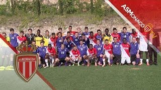 To be closer to your team, subscribe ! http://bit.ly/1gGJvT1 At La Turbie, the AS Monaco Academy received Amherst College for a...