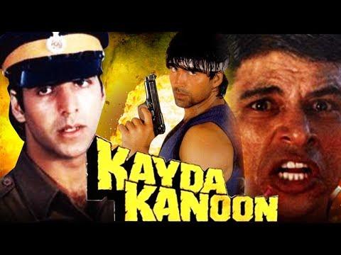 Kayda Kanoon (1993) Full Hindi Movie | Akshay Kumar, Ashwini Bhave, Sudesh Berry