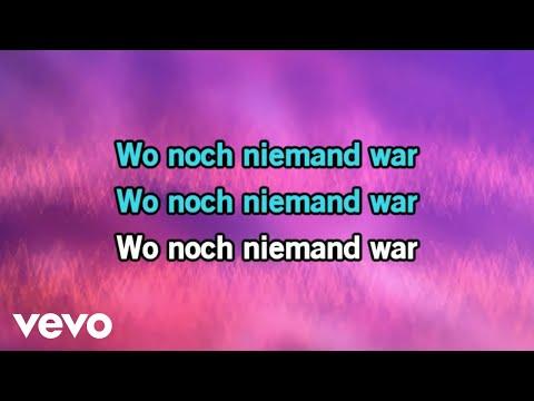 """Mark Forster - Wo noch niemand war (Karaoke-Version von """"Frozen 2"""")"""