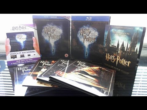 Harry Potter Complete 8-Film Collection Blu-Ray Box Set Product Review