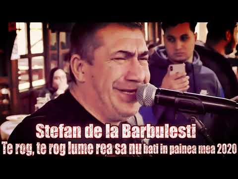 ☆ Stefan de la Barbulesti ❌ Te rog, te rog lume rea sa nu bati in painea mea 2020 ☆ IN PREMIERA 2020