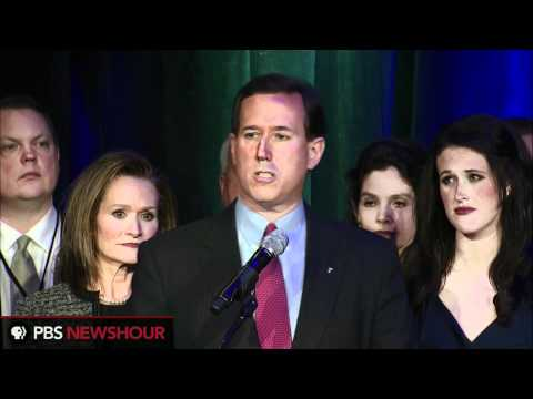 Santorum's shale steals post-Michigan show