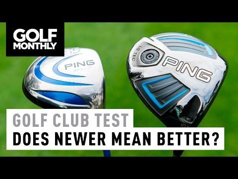 Old vs New Golf Club Test