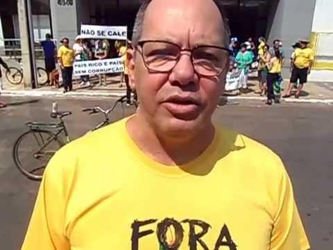 Protesto anti-Dilma - 16-08-2015, em Vilhena