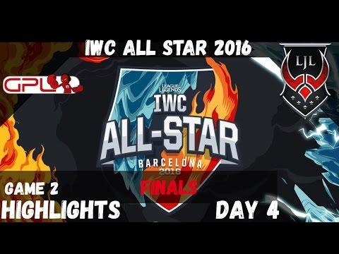 🔥 GPL vs LJL ️❄️ Game 2 Highlights | IWC All Star Barcelona 2016 D4 | SouthEast Asia vs Japan