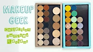 Makeup Geek Collection + Swatches Video!