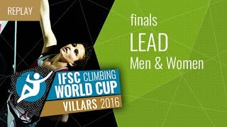 IFSC Climbing World Cup Villars 2016 - Lead - Finals - Men/Women by International Federation of Sport Climbing