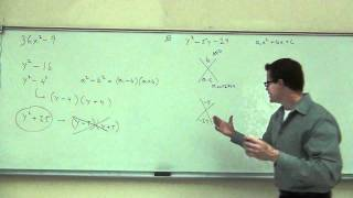 Intermediate Algebra Lecture C.1 Part 5