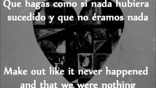 Gotye - Somebody That I Used To Know - Subtítulos en Inglés - Español