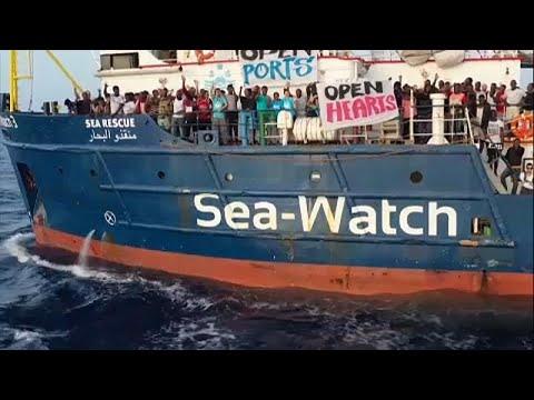 Σε αδιέξοδο το Sea Watch: Έκκληση από τους μετανάστες – Επιμένει η Ιταλία…