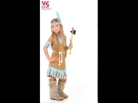 Deguisement Petite Indienne-v59391