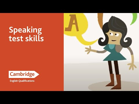 English Language Learning Tips - Speaking Test Skills