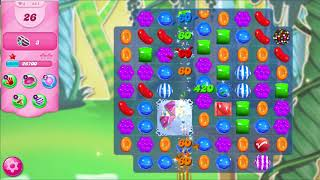 ᐈ CANDY CRUSH SAGA || Level: 421 || Soda Swamp - Collect 5 striped + striped combo (iPhone/Android)