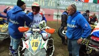 Pre-parco Race 2, Markelo. Italiani: Mario Cinotti e Nicola Montalbini