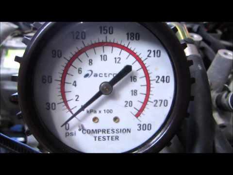 EJ20 TURBO COMPRESSION TEST SUBARU WRX 2002-2005